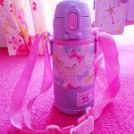 【幼稚園】新しい水筒を使ってみて。