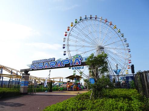木更津アウトレットにお出かけ。かんらんしゃパークKISARAPIAの観覧車に乗ったよ。