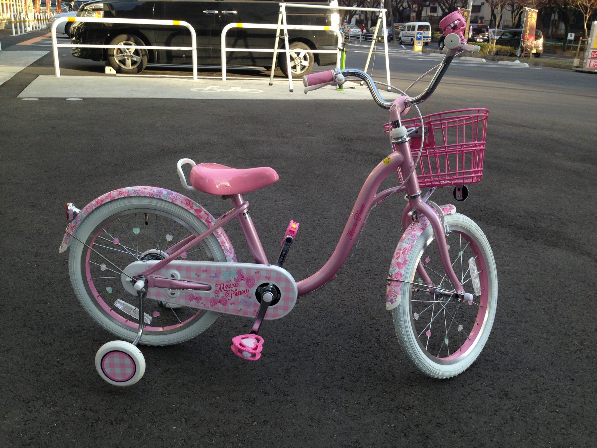 【クリスマスプレゼント】4歳の女の子が喜ぶ自転車選び。【メゾピアノ×あさひ】
