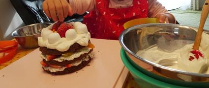 手作りクリスマスケーキを豪華に2つも作った理由