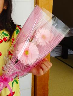【母の日】娘がくれた花は。