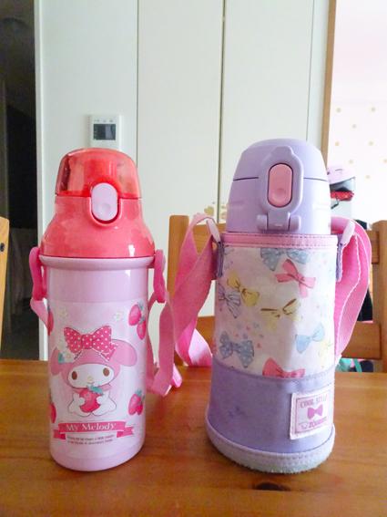 【幼稚園】久しぶりの登園と新しい水筒。【年中】