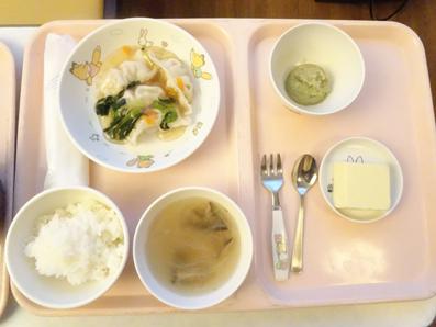 【川崎病】入院中の病院食の記録と娘の様子。