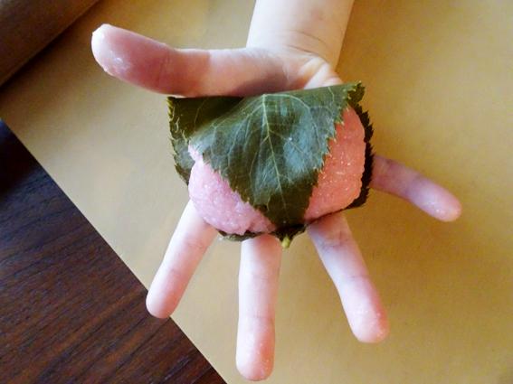 【ひな祭り】5歳の娘と作る桜餅。桜の葉を食べれるようになりました。【2019】