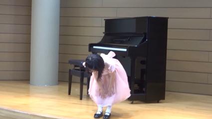 【ピアノ】お友達とのピアノの発表会を終えて。【年長4月】