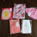 【コンビミニ】簡易浴衣とその他の購入品。