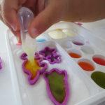 【おえかきグミランド】クラシエの知育菓子で楽しくおやつタイム。色のお勉強にもなったよ。