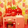【マザーガーデン】木製のキッチンやドレッサー。女の子の大好きが詰まった可愛いおもちゃたち。【おままごと】