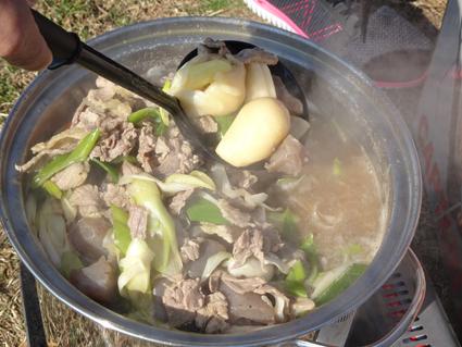 【芋煮会】東北では定番?山形の里芋で作った芋煮が絶品。