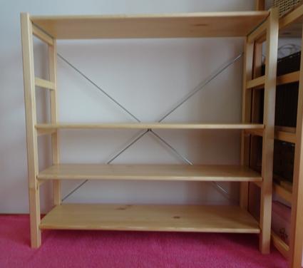 【子供部屋】無印良品のユニットシェルフが届いたので収納してみた。