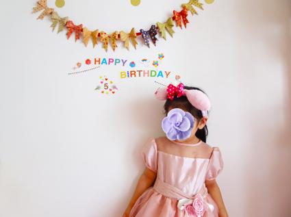 レミの5歳の誕生日。
