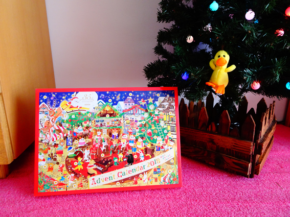【ROYCE'(ロイズ)】クリスマスのアドベントカレンダーが届いたのでコッソリ中身を覗いてみた。【2018年】