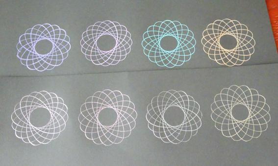スピログラフが描きやすいオススメのペンはノック式のボールペン『Juice up』。