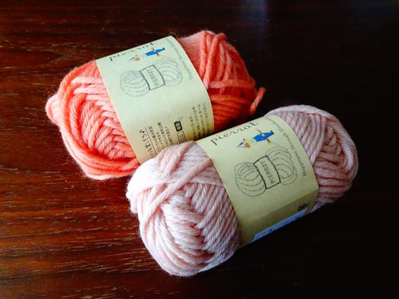 毛糸ピエロのソフトメリノで編んだマフラーと毛糸の話し。