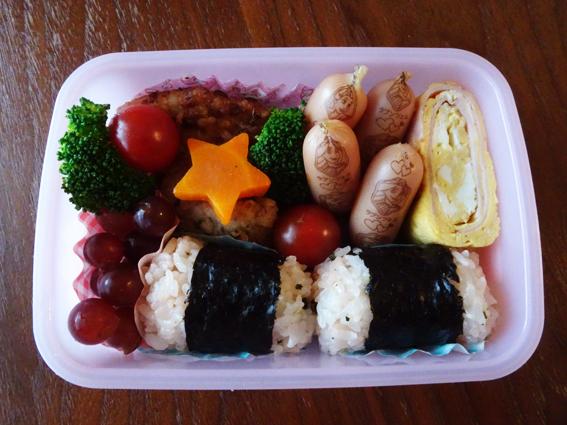 【幼稚園弁当】年長1学期最後のお弁当。年少や年中の頃から比べたお弁当の変化。【年長7月】