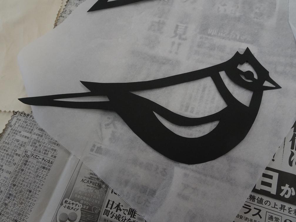 【造形教室】お花紙で作るステンドグラス。【年長6月】