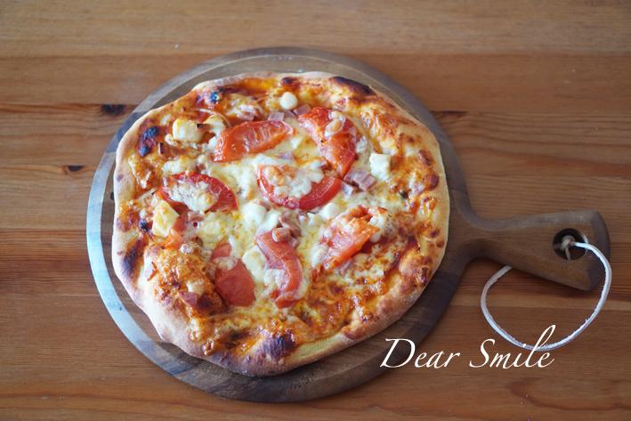 ピザボードが届いた。子供と作る手作りピザ。