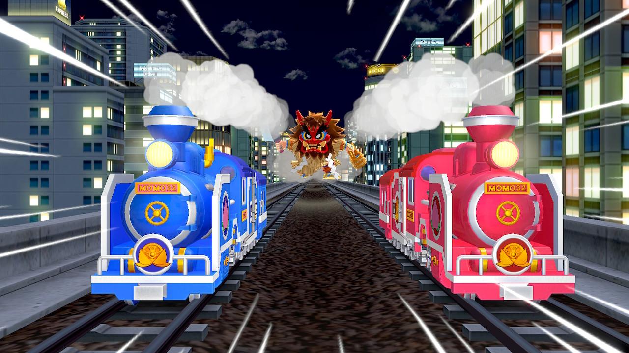 Switch版桃太郎電鉄の3年決算は子供が遊ぶのに丁度いい。